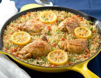 Chicken Rice Mediterranean